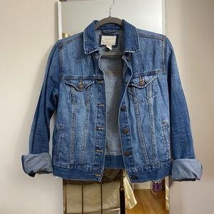 Forever 21 denim/jean jacket, size small